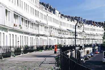 Royal York Crescent, Bristol, England, United Kingdom, Europe