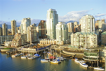 False Creek, downtown, Vancouver, British Columbia, Canada