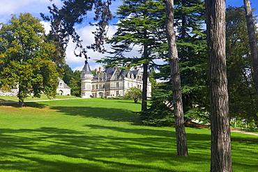 Chateau de la Bourdaisiere, Montlouis sur Loire, Indre et Loire, Centre, France, Europe