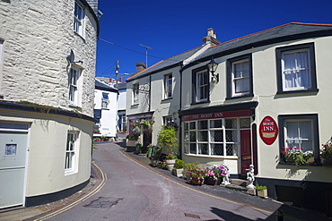 The Boot Inn, Calstock village, Tamar Valley, Cornwall, England, United Kingdom, Europe