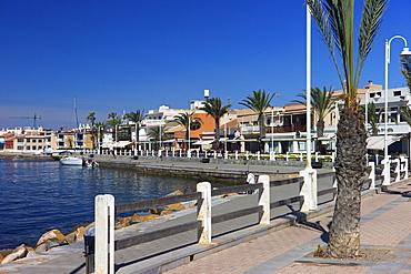 The harbour at Cabo de Palos, Murcia, Spain, Mediterranean, Europe
