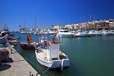 The marina at Cabo de Palos, Murcia, Spain, Mediterranean, Europe