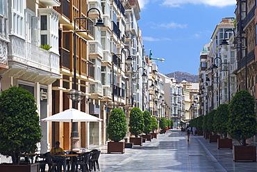 The centre of Cartagena, Murcia, Spain, Europe