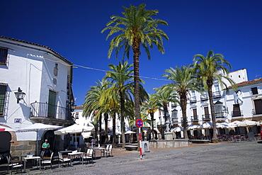 The Plaza Mayor, Zafra, Andalucia, Spain, Europe