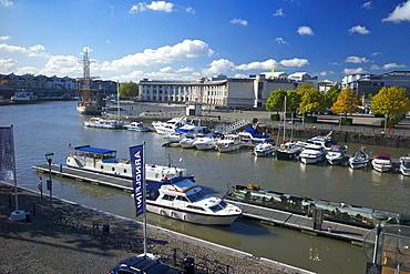 The floating harbour, Bristol, England, United Kingdom, Europe