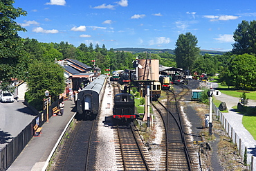 Buckfastleigh Station on the South Devon Railway, Buckfastleigh, Devon, England, United Kingdom, Europe