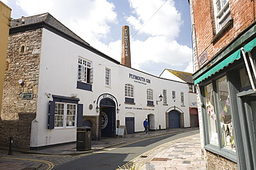 The Plymouth Gin distillery, Barbican, Plymouth, Devon, England, United Kingdom, Europe