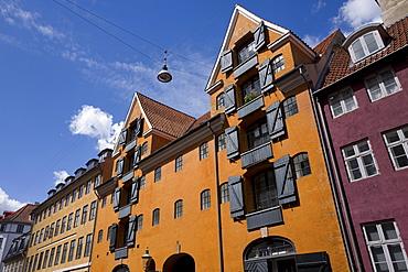Architecture, Christianshavn, Copenhagen, Denmark, Europe