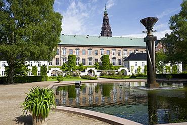 Library Gardens, Slotsholmen, Copenhagen, Denmark, Europe