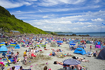 Looe beach, Cornwall, England, United Kingdom, Europe