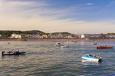 Sidmouth Regatta, Devon, England, United Kingdom, Europe