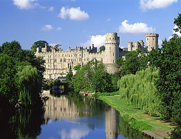 Warwick Castle, Warwickshire, England, United Kingdom, Europe