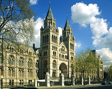 The Natural History Museum, South Kensington, London, England, United Kingdom, Europe