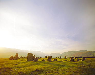 Castlerigg Stone Circle, Keswick, Cumbria, Lake District, England