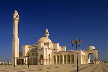 The Grand Mosque, Bahrain, Middle East