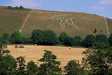 Cerne Abbas Giant, Cerne Abbas, Dorset, England, United Kingdom, Europe
