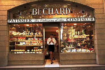 Patisserie, Aix en Provence, Bouches du Rhone, Provence, France, Europe