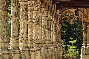 Bussaco Palace, Beira Litoral region, Costa de Prata, Portugal, Europe