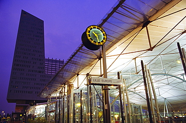 Lille Rail Station, Lille, France, Europe