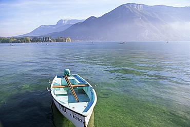 Lake Annecy, Rhone Alpes, France, Europe