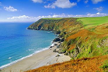 Lantic Bay, Near Fowey, Cornwall, England,UK