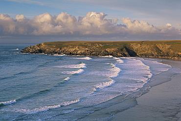 Holywell Bay, near Newquay, Cornwall, England, United Kingdom, Europe