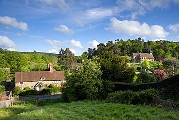 Holmbury St. Mary, Surrey Hills, Surrey, England, United Kingdom, Europe