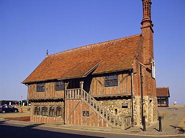 Moot Hall, Aldeburgh, Suffolk, England, UK, Europe