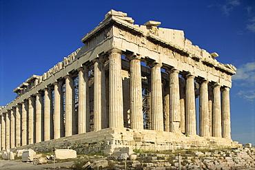 The Parthenon, The Acropolis, UNESCO World Heritage Site, Athens, Greece, Europe