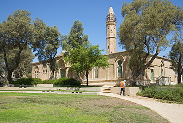 Ottoman era mosque in Be'er Sheva, The Museum of Islamic and Near Eastern Cultures, Be'er Sheva, Israel, Middle East