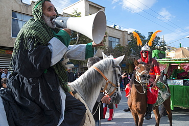 Ashura processions, Bijar, Iran, Western Asia