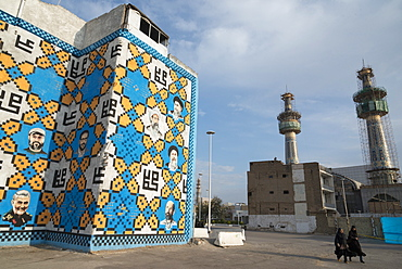 Around the Shrine complex, Haram e Razavi, Mashhad, Iran, Western Asia