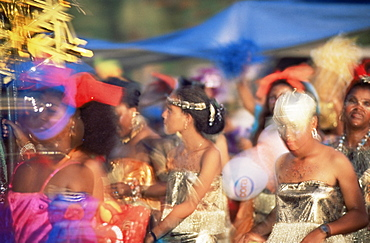Carnival procession, Guadeloupe, West Indies, Caribbean, Central America