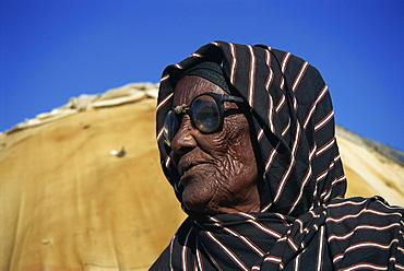 Portrait of old woman, Ethiopia, Africa