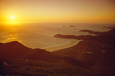 Wilson's Promontory, sunset from Mount Oberon, Victoria, Australia
