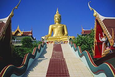 Golden Buddha Temple, Koh Samui, Thailand, Asia