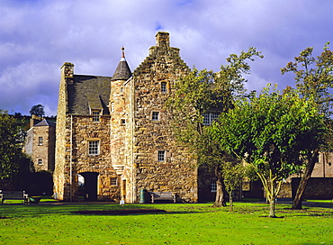 Mary Queen of Scots' House (now a Visitor Centre), Jedburgh, Scottish Borders, Scotland