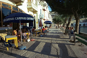 Waterfront, Xlendi Bay, Gozo, Malta, Europe