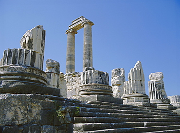 Temple of Apollo, Didyma, Anatolia, Turkey, Asia Minor, Asia