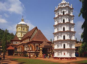 Shantadurga Temple, Quela, Ponda, Goa, India