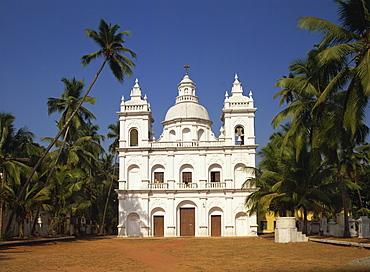 Church of St. Alex, Calangute, Goa, India, Asia