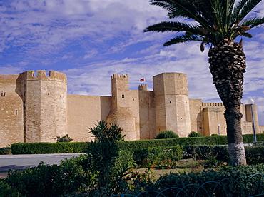 Ribat of Harthema, Monastir, Tunisia, North Africa, Africa