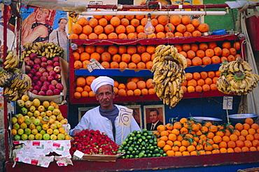 Fruit stall, Luxor, Egypt, North Africa