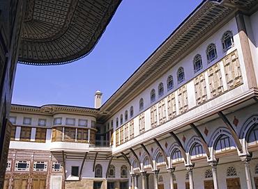 The harem, Topkapi Palace museum, Istanbul, Turkey, Europe