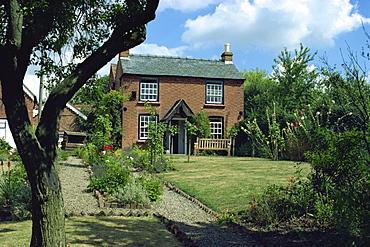 The cottage where Edward Elgar was born in 1857, Lower Broadheath, Worcestershire, England, United Kingdom, Europe