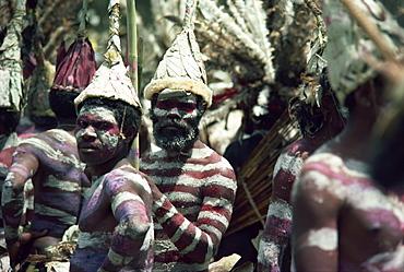 Tribal men, Goroka, Eastern Highlands, Papua New Guinea, Pacific Islands