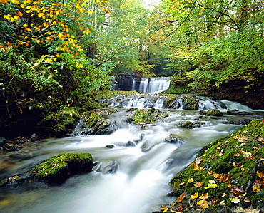 Stock Ghyll Beck, Ambleside, Lake District, Cumbria, England
