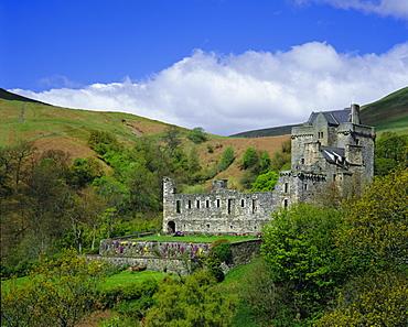 Castle Campbell, Dollar Glen, Central Region, Scotland, UK, Europe