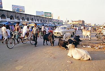 Marketplace, Puri, Orissa State, India, Asia