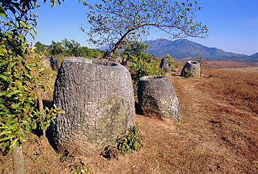 The 2000 year old Plain of Jars, Phonsavan, Xieng Khouang (Xieng Khuang) Province, Laos